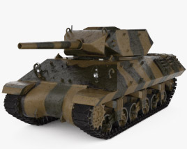 3D model of M10 Wolverine