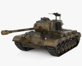 3D model of M26 Pershing