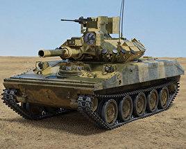 3D model of M551 Sheridan