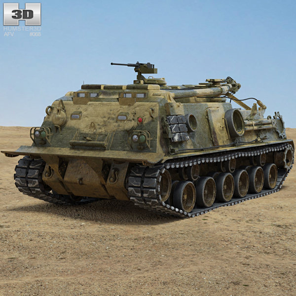 M88 Recovery Vehicle 3D model