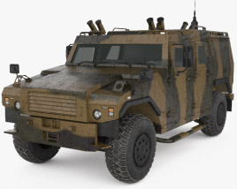 3D model of MOWAG Eagle