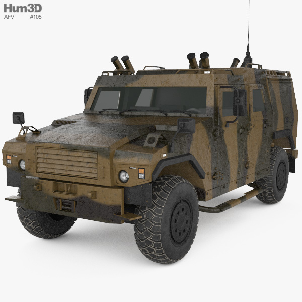 MOWAG Eagle 3D model