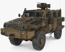 3D model of Marauder APC