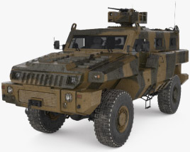 Marauder Armoured Personnel Carrier 3D model