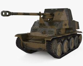 Marder III Tank Destroyer 3D model