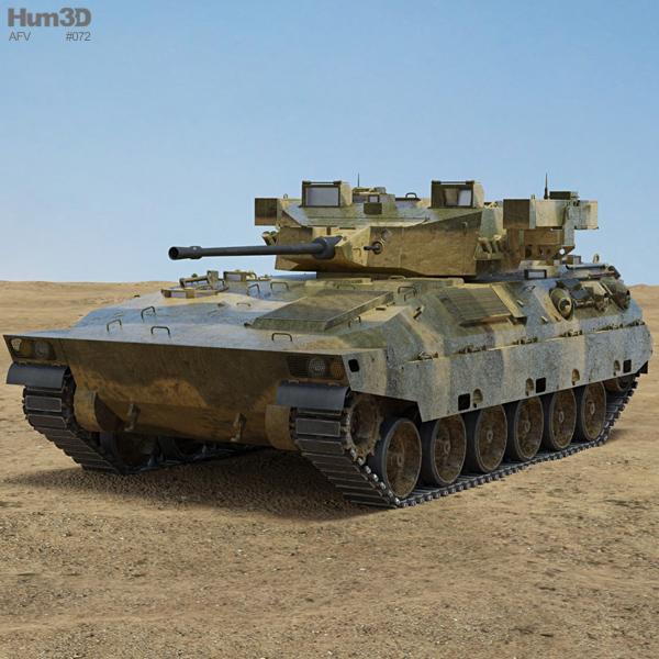 Mitsubishi Type 89 IFV 3D model