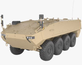 Mowag Piranha V 3D model