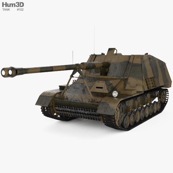Nashorn 3D model