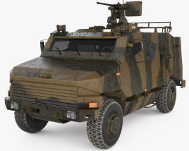 3D model of Nexter Aravis