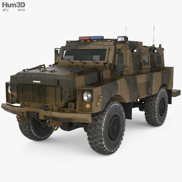 Oshkosh Alpha MRAP 3D model