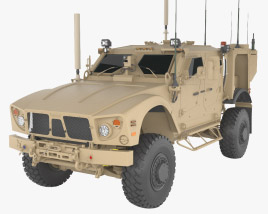 3D model of Oshkosh M-ATV