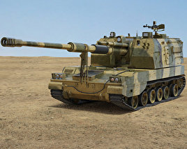 PLZ-05 Self-propelled Howitzer 3D model