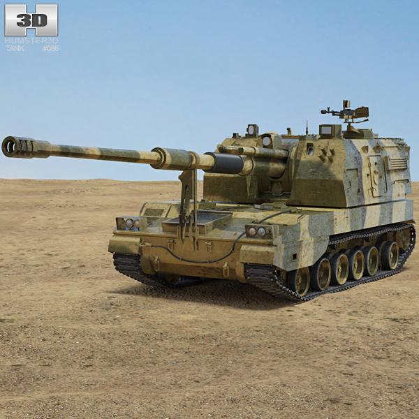 PLZ-05 3D model