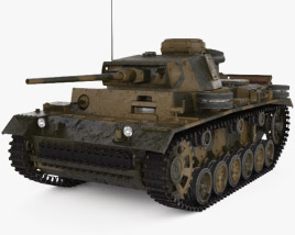 3D model of Panzer III