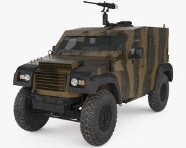 3D model of Petit Vehicule Protege