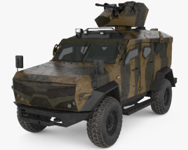 3D model of Plasan SandCat M-LPV