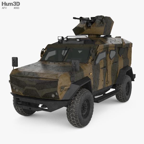 Plasan SandCat M-LPV 3D model