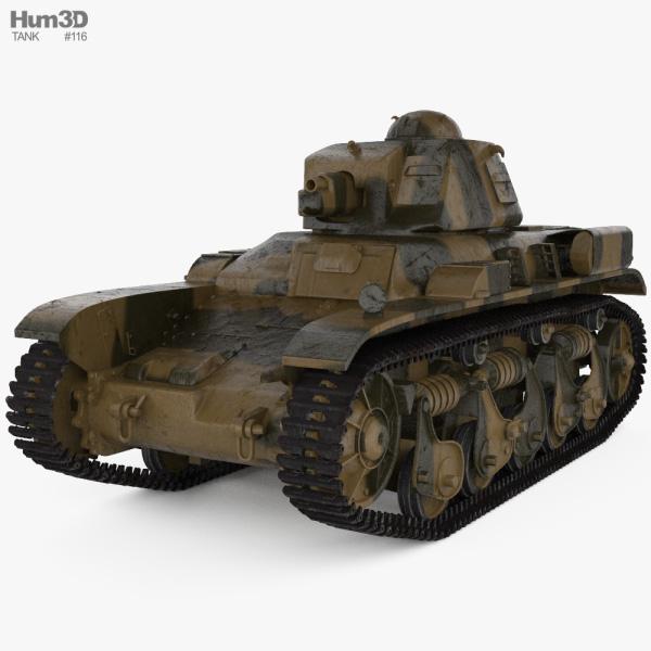Renault R35 3D model