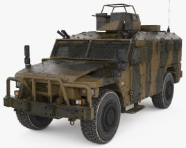 3D model of Renault Sherpa Light Scout