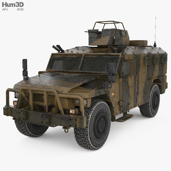 Renault Sherpa Light Scout 3D model