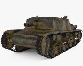 3D model of Semovente da 75/18