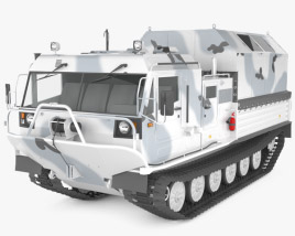 3D model of TM-140A ATV