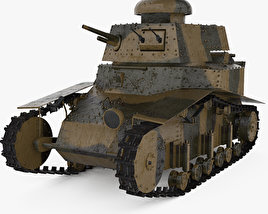 3D model of T-18