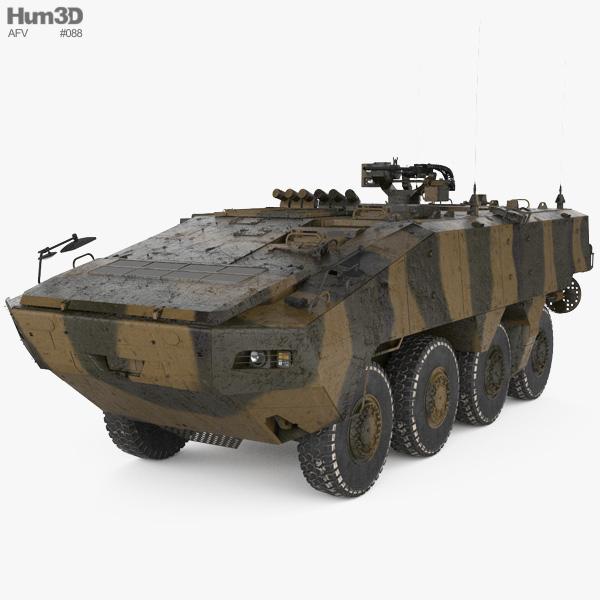 Terrex ICV 3D model