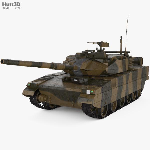 Type 15 Light Tank 3D model