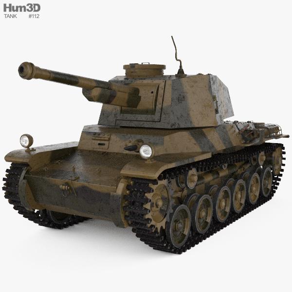 Type 3 Chi-Nu 3D model