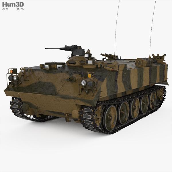 Type 73 APC 3D model