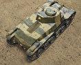 Type 97 Chi-Ha 3d model