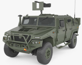 3D model of URO VAMTAC ST5