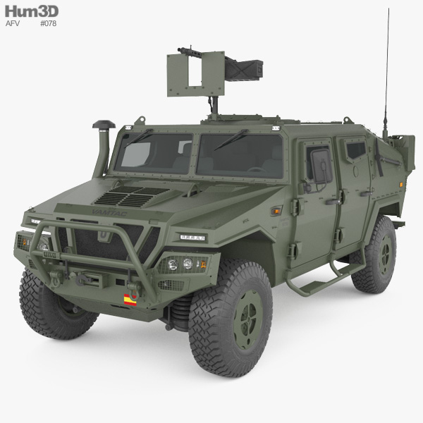 URO VAMTAC ST5 3D model