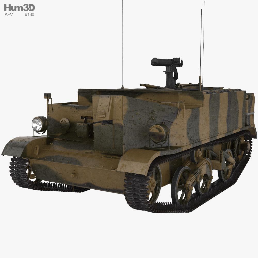 Universal Carrier (Bren Gun Carrier) 3D model