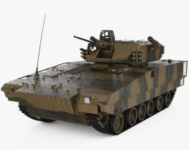 VN17 Infantry Fighting Vehicle 3D model