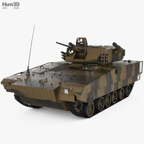 VN17 Infantry Fighting Vehicle 3D model