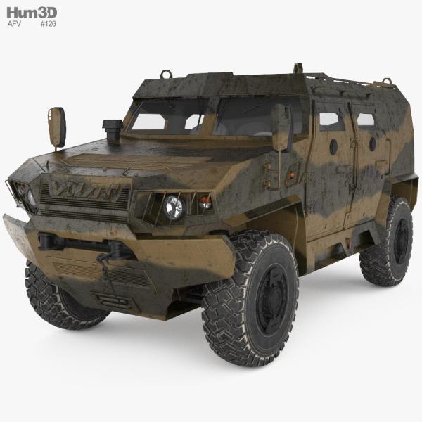 Volat V1 3D model