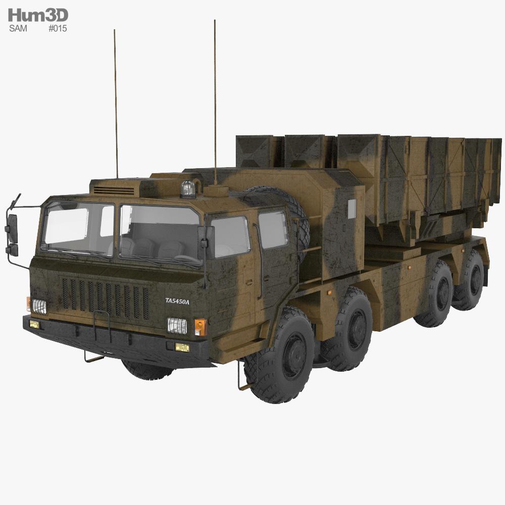 Weishi WS-2 Guided MLRS 3D model