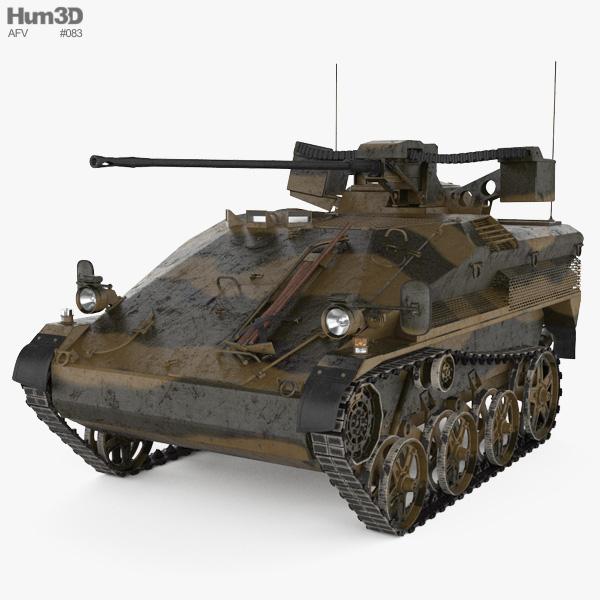 Wiesel AWC 3D model