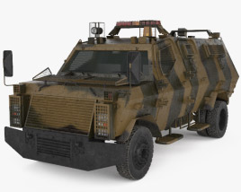 3D model of Wolf Armoured Vehicle