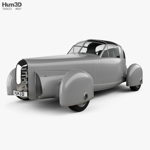 3D model of Tasco Prototype 1948