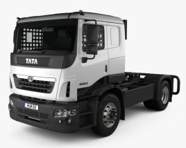 3D model of Tata Prima Tractor Racing Truck 2009