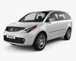 3D model of Tata Aria 2010