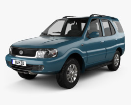 3D model of Tata Safari 2009