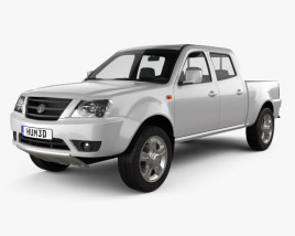 3D model of Tata Xenon Double Cab 2008
