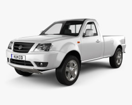 3D model of Tata Xenon Single Cab 2008