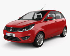 3D model of Tata Bolt 2014
