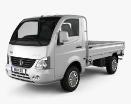 3D model of Tata Super Ace 2012