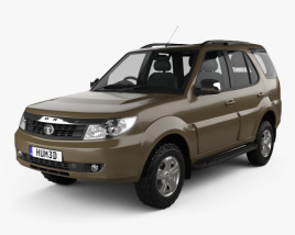 3D model of Tata Safari Storme 2015